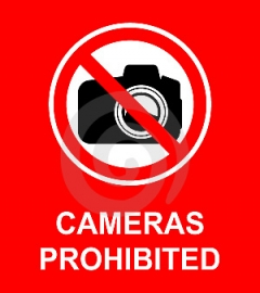 Prohibited photo