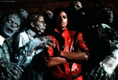 Thriller, the cinema in the opening scene