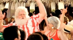 Santa on summer time